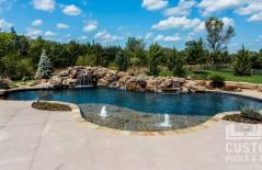 Wichita Kansas Custom Pool Image Gallery 05