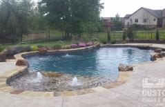 Wichita Kansas Custom Pool Image Gallery 21