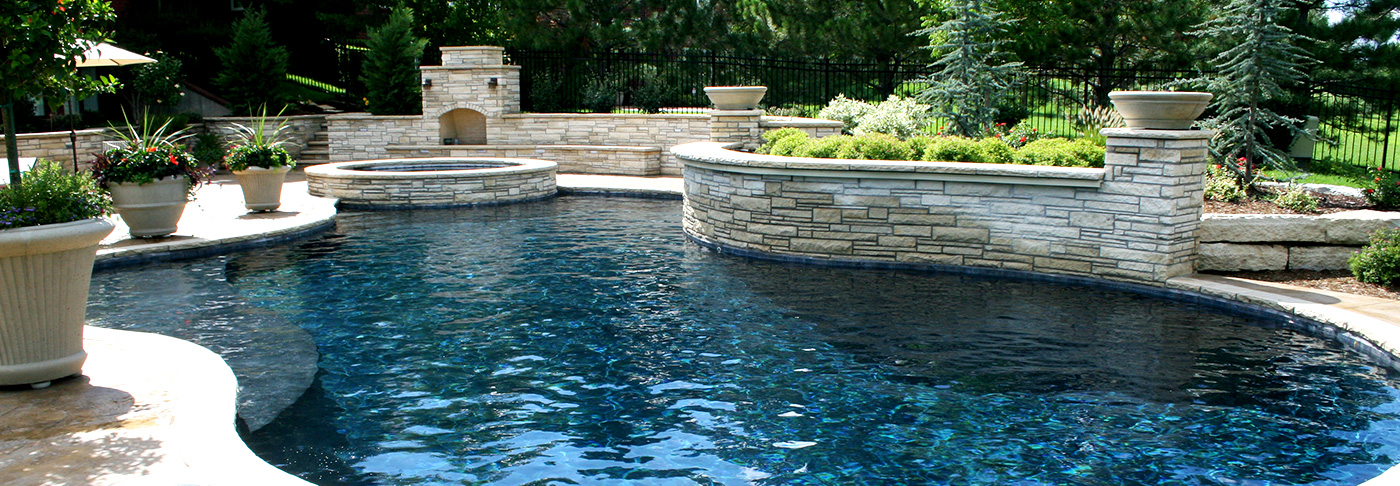 Pools by l m custom pools spa wichita ks - American swimming pool and spa association ...