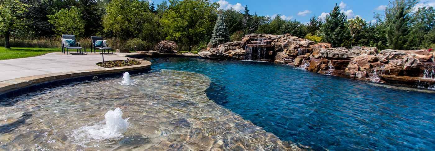 Wichita Custom Pool Image 2