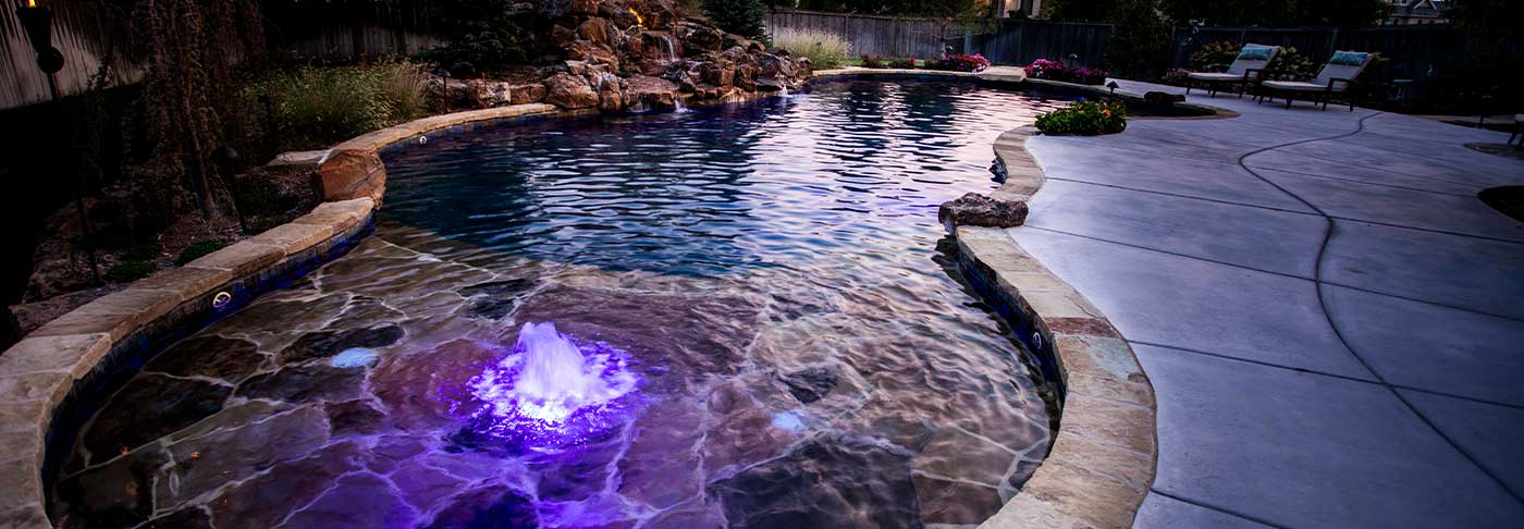 Wichita KS Custom Pool Image 1